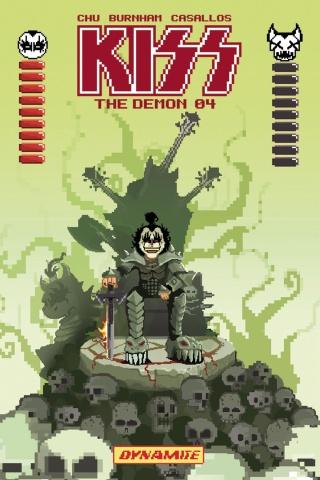 KISS: The Demon #4 (Adams 8-Bit Cover)