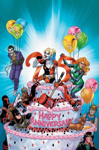 Harley Quinn 25th Anniversary Special #1