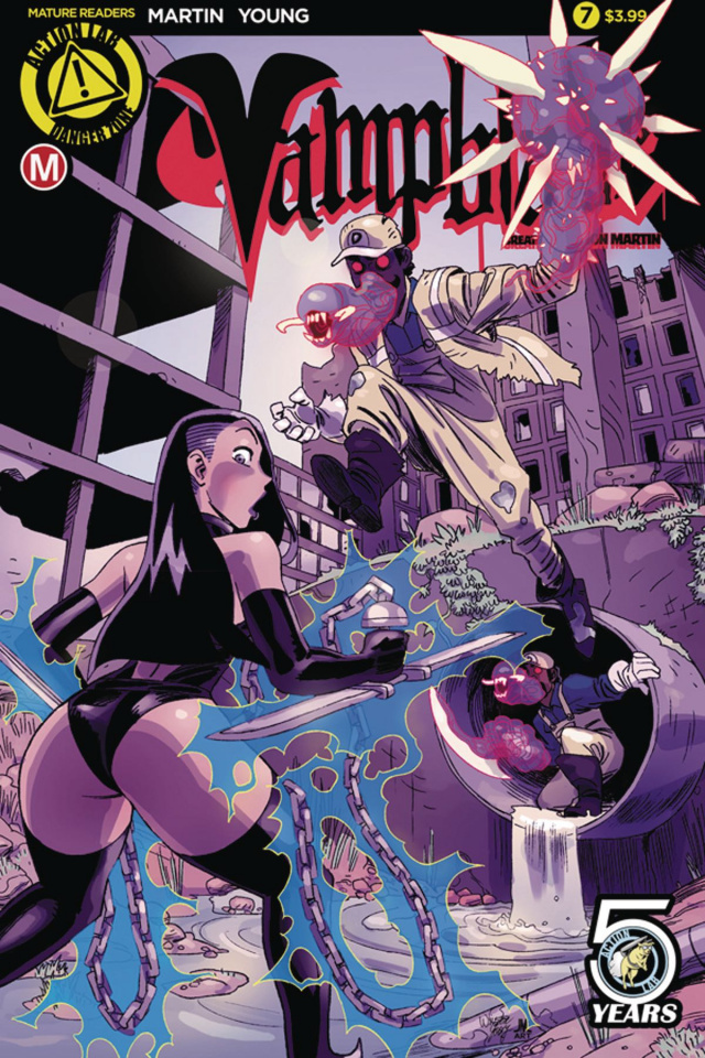 Vampblade #7 (Young Cover)
