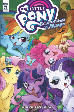 My Little Pony: Friendship Is Magic #71 (10 Copy Cibos Cover)