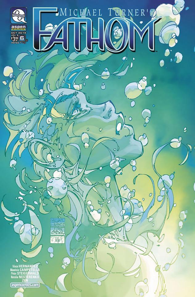 Fathom #6 (Turner Cover)