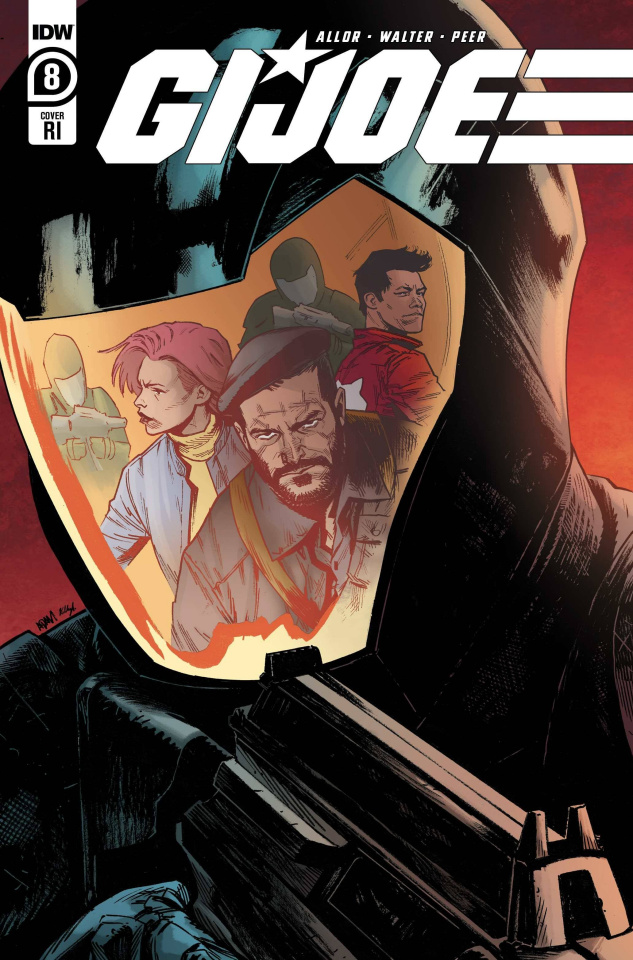 G.I. Joe #8 (10 Copy Gorham Cover)
