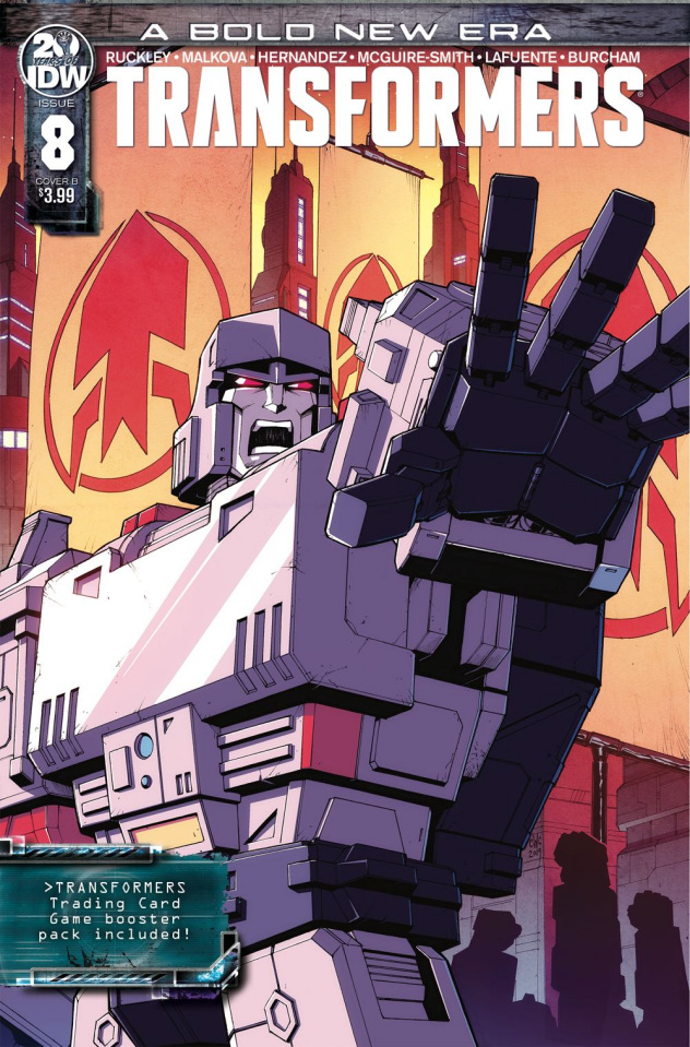 The Transformers #8 (Coller Cover)