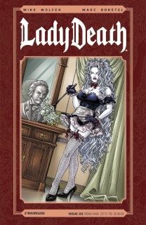 Lady Death #26 (French Maid Cover)
