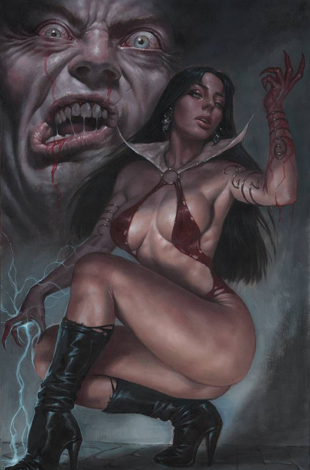 Vengeance of Vampirella #20 (Parrillo Virgin Cover)