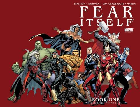Fear Itself #1 (2nd Printing)