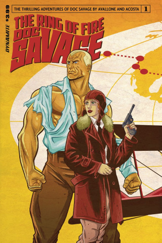 Doc Savage: The Ring of Fire #1 (Schoonover Cover)