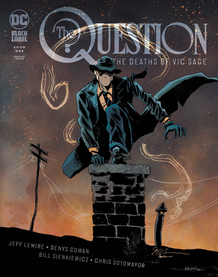 The Question: The Deaths of Vic Sage #1 (Variant Cover)