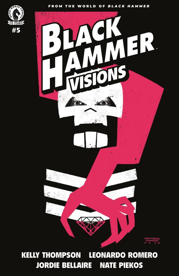Black Hammer: Visions #5 (Romero Cover)