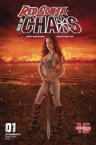 Red Sonja: Age of Chaos #1 (Cosplay Cover)
