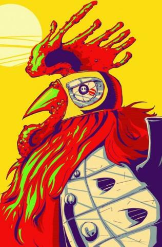 Chew: Secret Agent Poyo #1 (SDCC Cover)