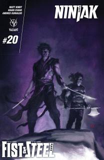 Ninjak #20 (Choi Cover)
