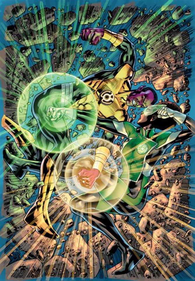 Green Lantern #6 (Bryan Hitch Card Stock Cover)