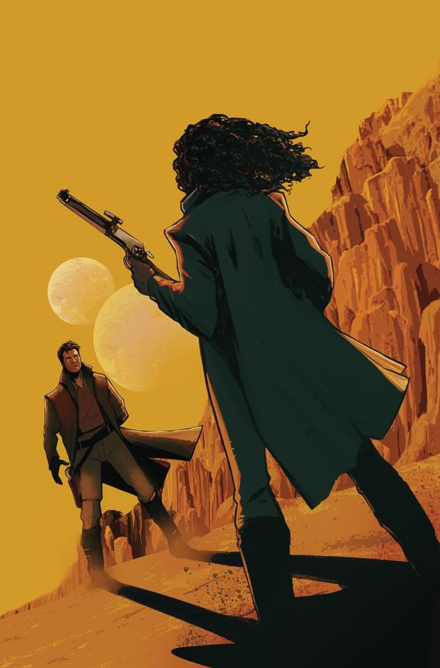 Firefly #8 (Garbett Cover)
