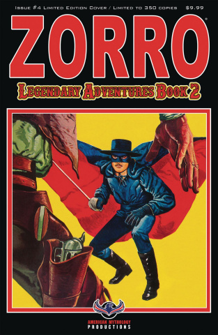 Zorro: Legendary Adventures, Book 2 #4 (Limited Edition Cover)