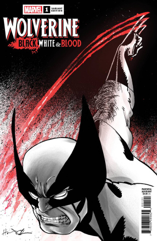 Wolverine: Black, White & Blood #1 (Chaykin Cover)