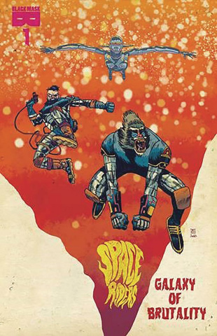 Space Riders: Galaxy of Brutality #1 (2nd Printing)