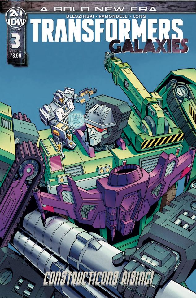 Transformers: Galaxies #3 (Chan Cover)