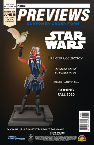 Previews #383: August 2020 Customer Order Form