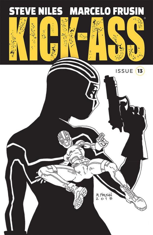 Kick-Ass #13 (Frusin Cover)