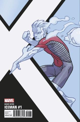 Iceman #1 (Kirk Corner Box Cover)