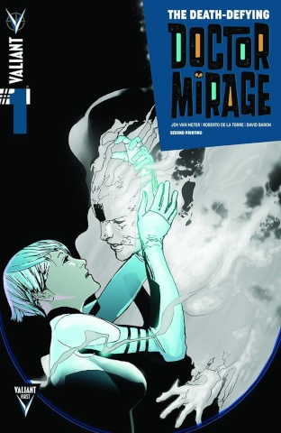 The Death-Defying Doctor Mirage #1 (2nd Printing)