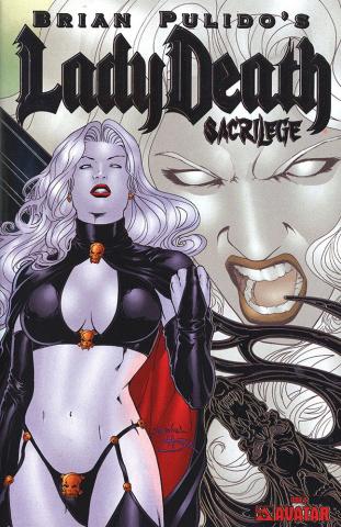 Lady Death: Sacrilege #0 (Platinum Foil Cover)