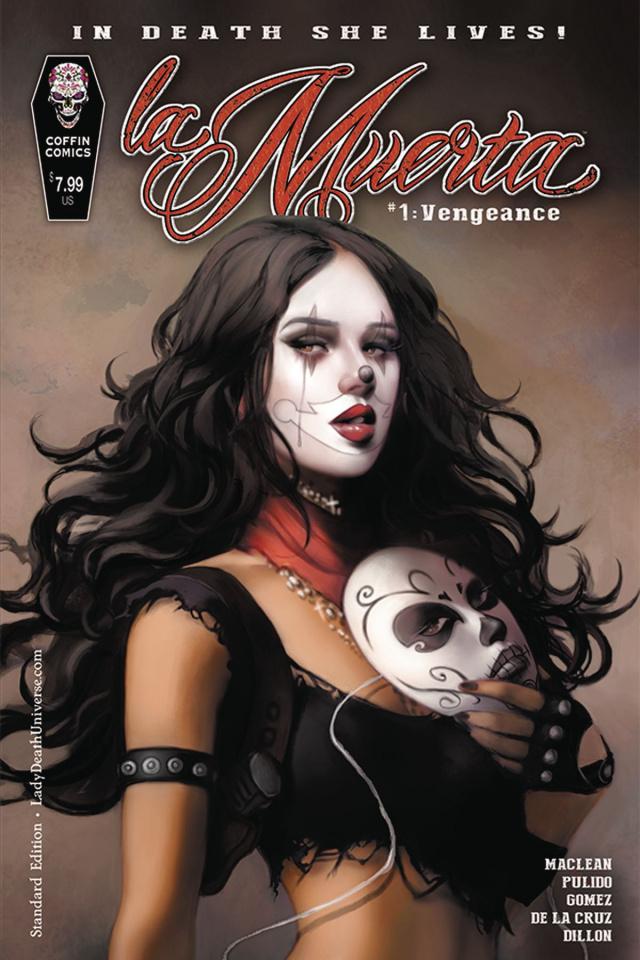 La Muerta: Vengeance #1 (Standard Cover)