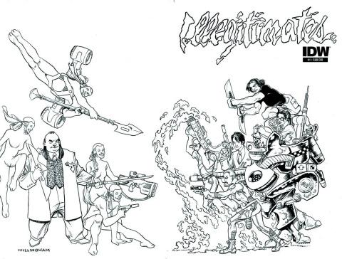 The Illegitimates #1 (Subscription Cover)
