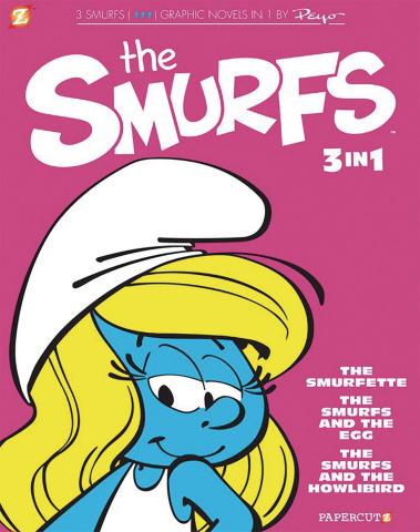 Smurfs Vol. 2 (3-in-1 Edition)