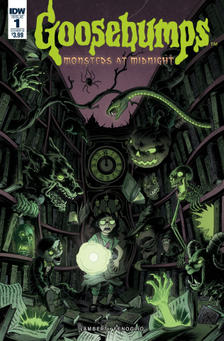 Goosebumps: Monsters At Midnight #1 (Wilson III Cover)