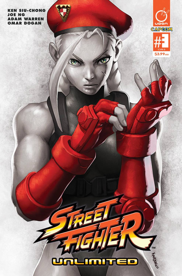 Street Fighter Unlimited #3 (20 Copy SF V Game Cover)