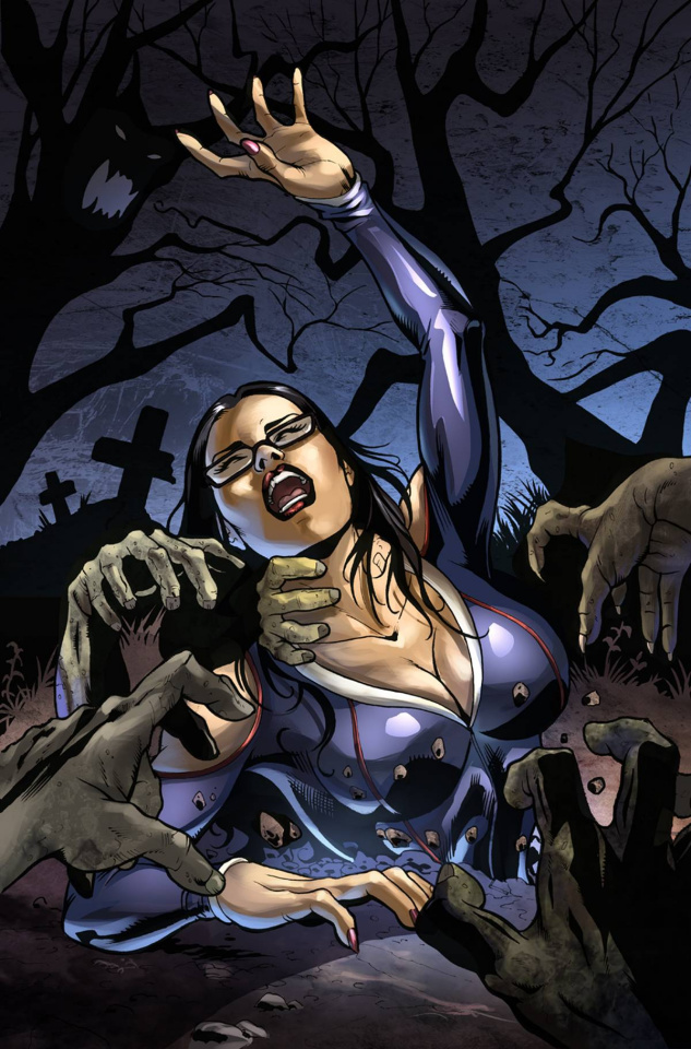Grimm Fairy Tales Halloween Special 2015 (Sanapo Cover)