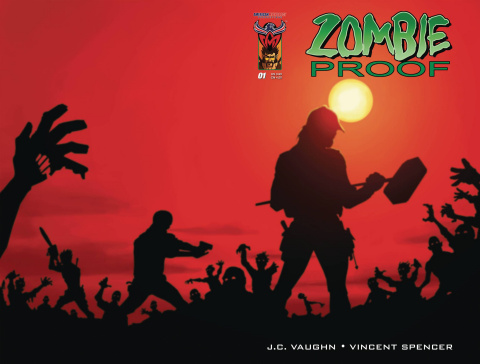 Zombie Proof: Zombie Zoo #1 (Subscription Cover)