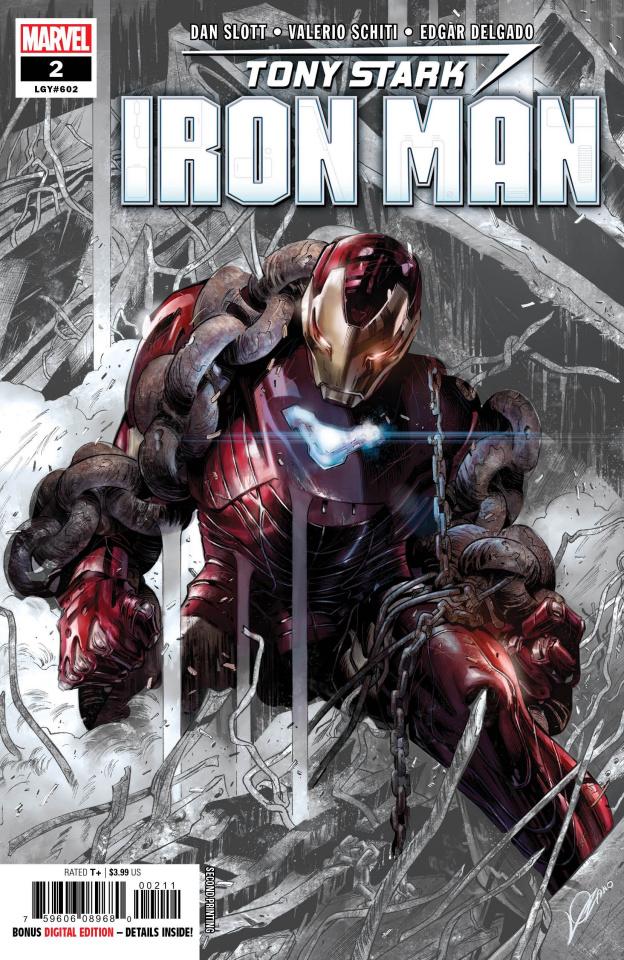 Tony Stark: Iron Man #2 (Lozano 2nd Printing)