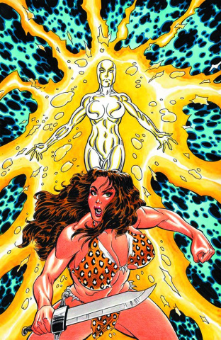 Cavewoman: Shattered Time #1 (Durham Cover)