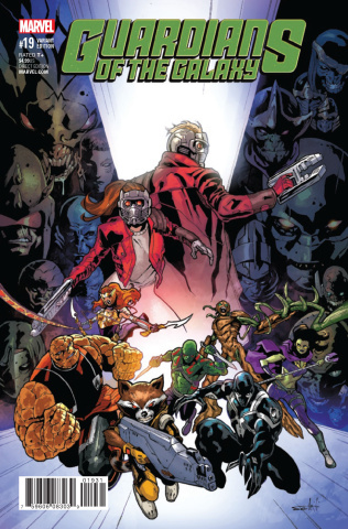 Guardians of the Galaxy #19 (Schiti Final Issue Cover)
