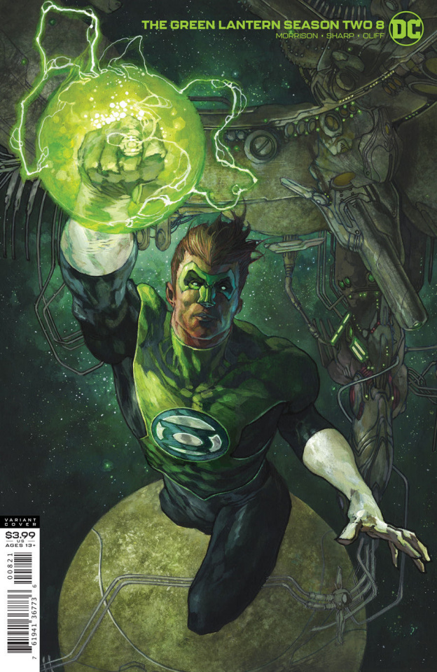 Green Lantern, Season 2 #8 (Simone Bianchi Cover)