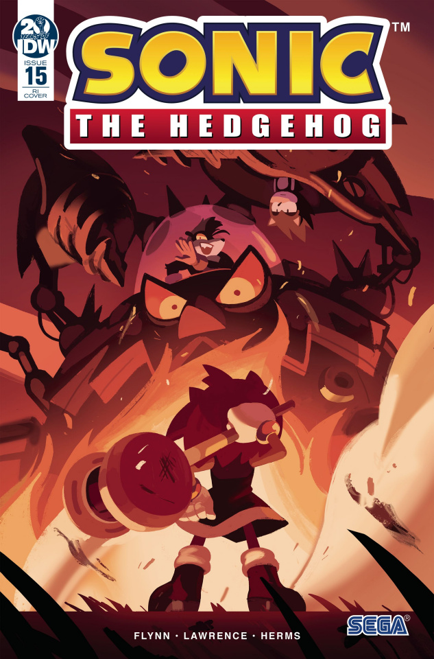 Sonic the Hedgehog #15 (10 Copy Fourdraine Cover)