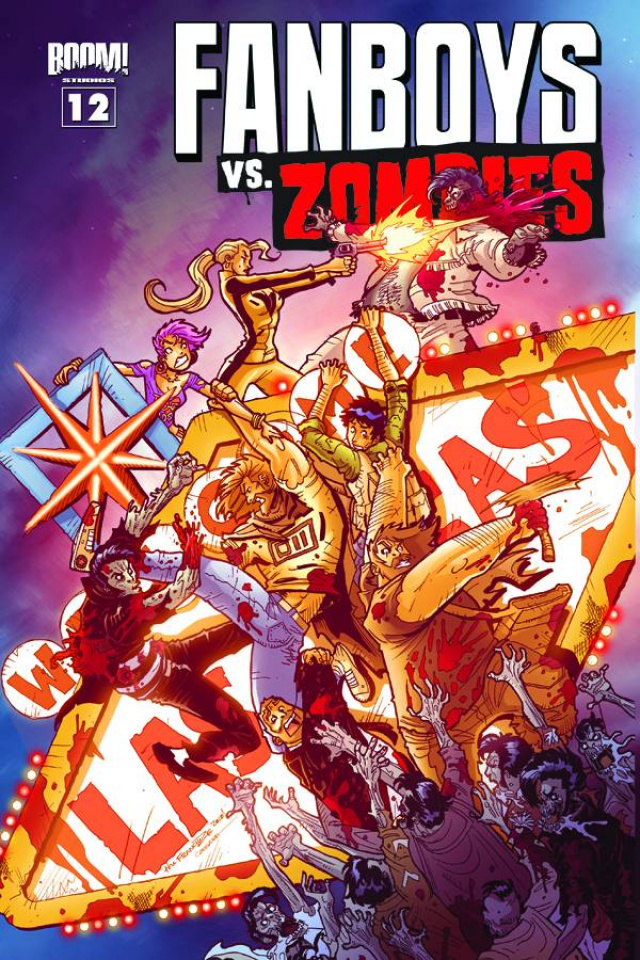 Fanboys vs. Zombies #12