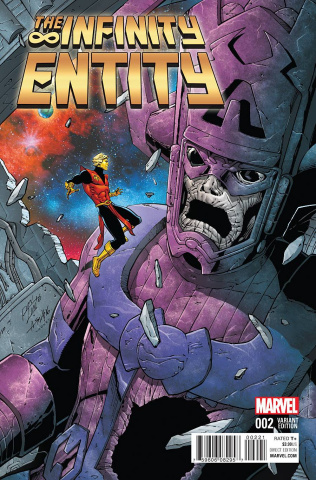 The Infinity Entity #2 (Lim Cover)