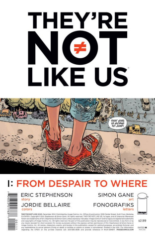 They're Not Like Us #1 (2nd Printing)