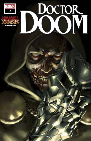Doctor Doom #7 (Mercado Marvel Zombies Cover)
