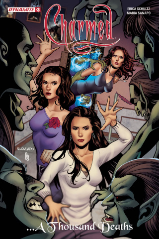 Charmed #3 (Sanapo Cover)