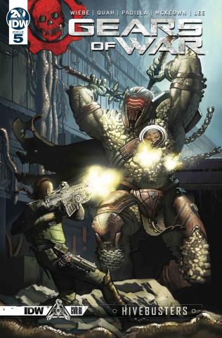 Gears of War: Hivebusters #5 (10 Copy Droal Cover)