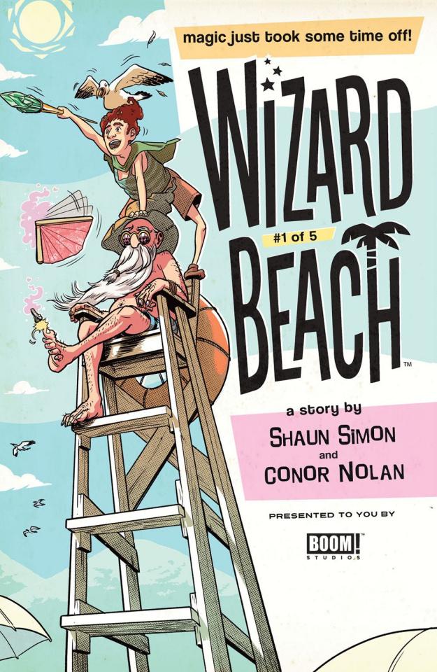 Wizard Beach #1 (Schall Cover)