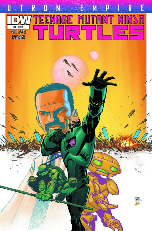 Teenage Mutant Ninja Turtles: Utrom Empire #1