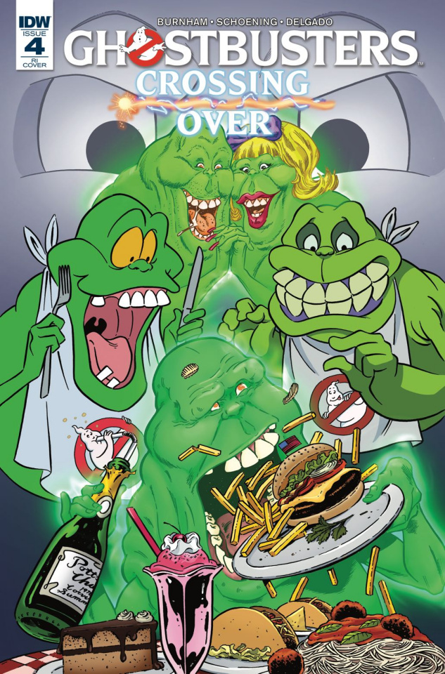 Ghostbusters: Crossing Over #4 (10 Copy Cover)