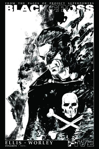 Blackcross #5 (35 Copy Hardman B&W Cover)