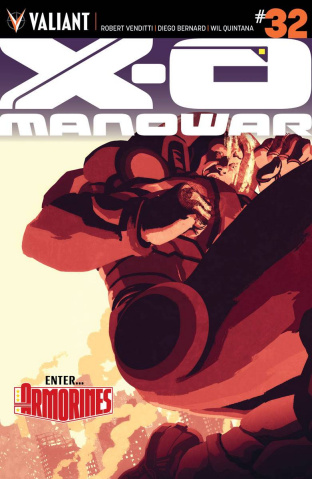 X-O Manowar #32 (Interlocking Allen Cover)